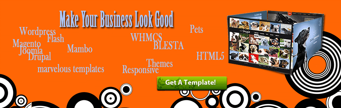 Web templates are a perfect way to start or grow your business